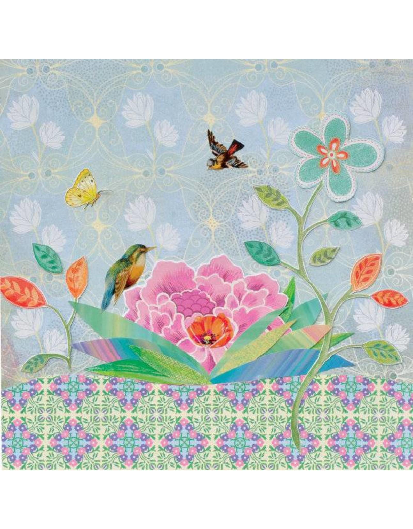 ZintenZ postcard Flower