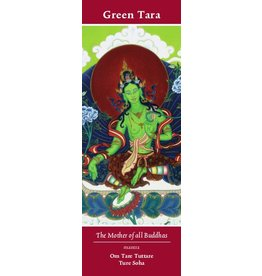 Tibetan Buddhist Art bookmark Green Tara