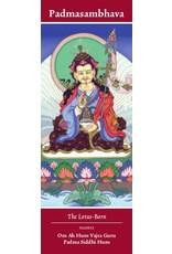 Tibetan Buddhist Art bookmark Padmasambhava