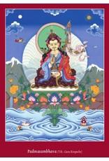 Tibetan Buddhist Art postkaart Padmasambhava