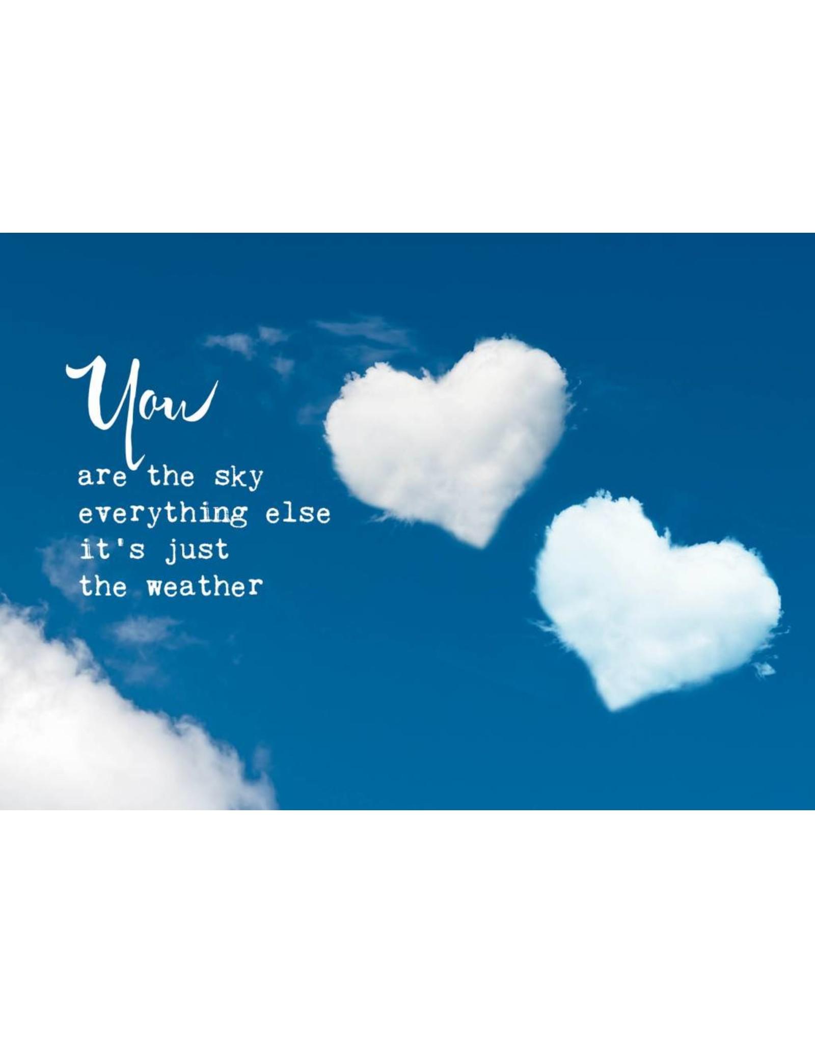 ZintenZ postcard You are the sky