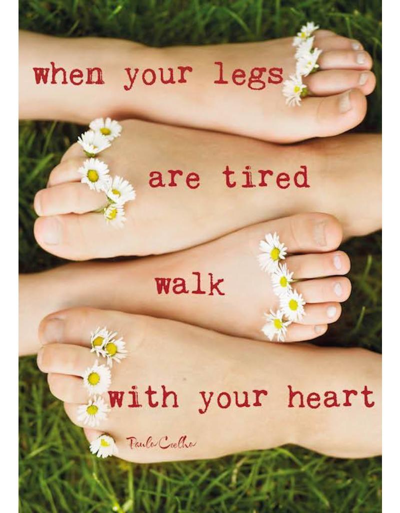 ZintenZ postcard When your legs