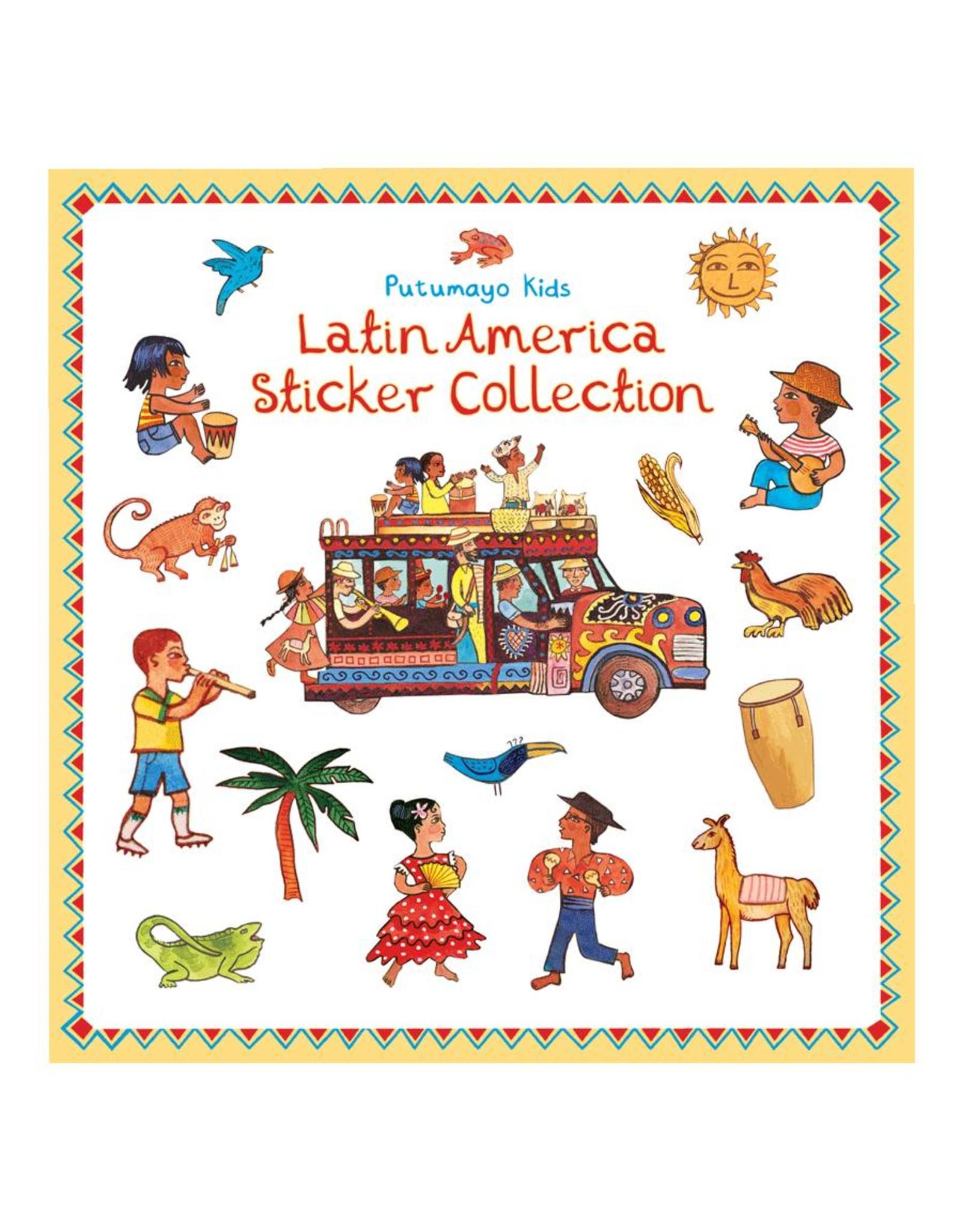 Putumayo Kids sticker book Latin America