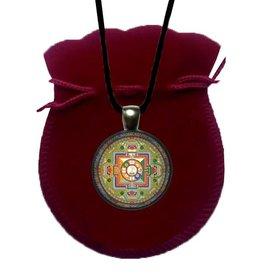 Tibetan Buddhist Art ketting Mandala Avalokiteshvara