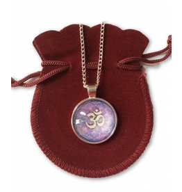 Tibetan Buddhist Art ketting Ohm