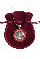 Tibetan Buddhist Art necklace Green Tara