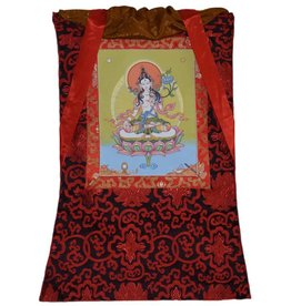 Tibetan Buddhist Art thangka White Tara