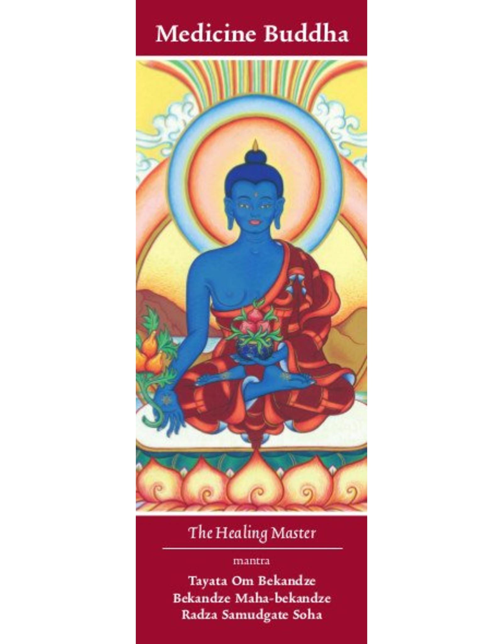 Tibetan Buddhist Art thangka Medicijn Boeddha