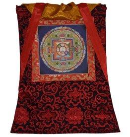 Tibetan Buddhist Art thangka Mandala Avalokiteshvara