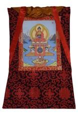 Tibetan Buddhist Art thangka Shakyamuni Buddha