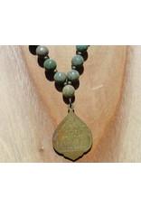 JewelryByM necklace bamboo stone & reclining Buddha