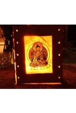 Dakini windlichtje Shakyamuni Boeddha