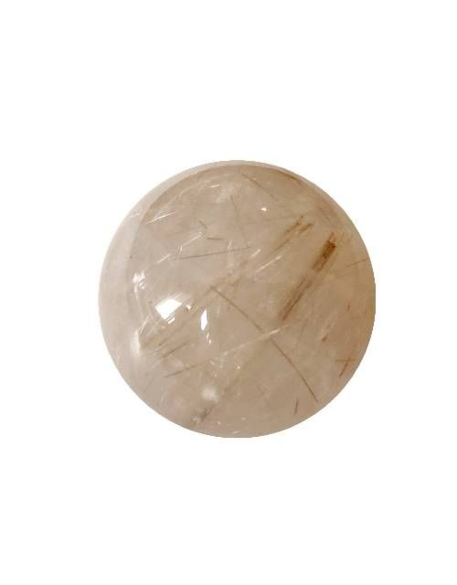 Interchangeable gemstone Rutilated Quartz