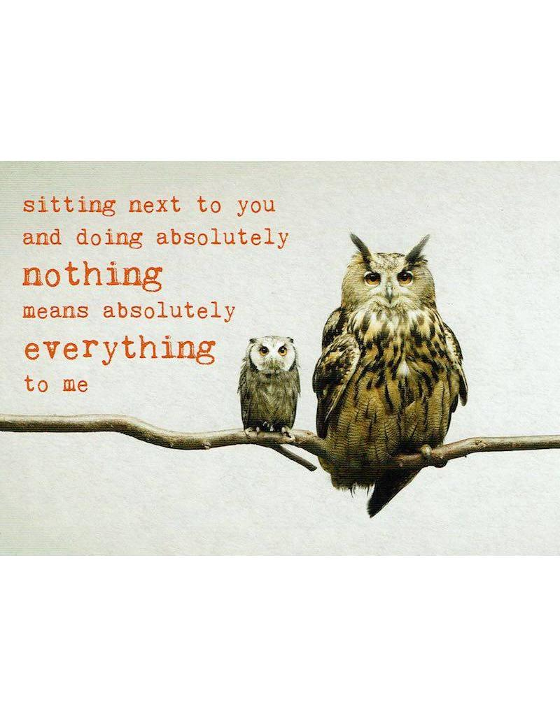 ZintenZ postkaart Sitting next to you
