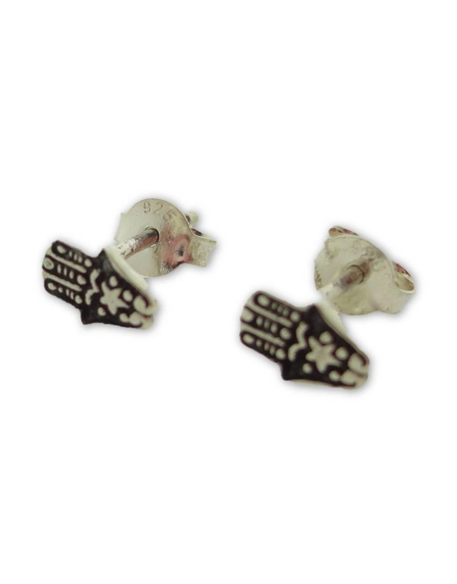 Shanti stud earrings Hamsa
