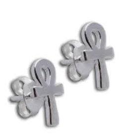 Shanti stud earrings Ankh