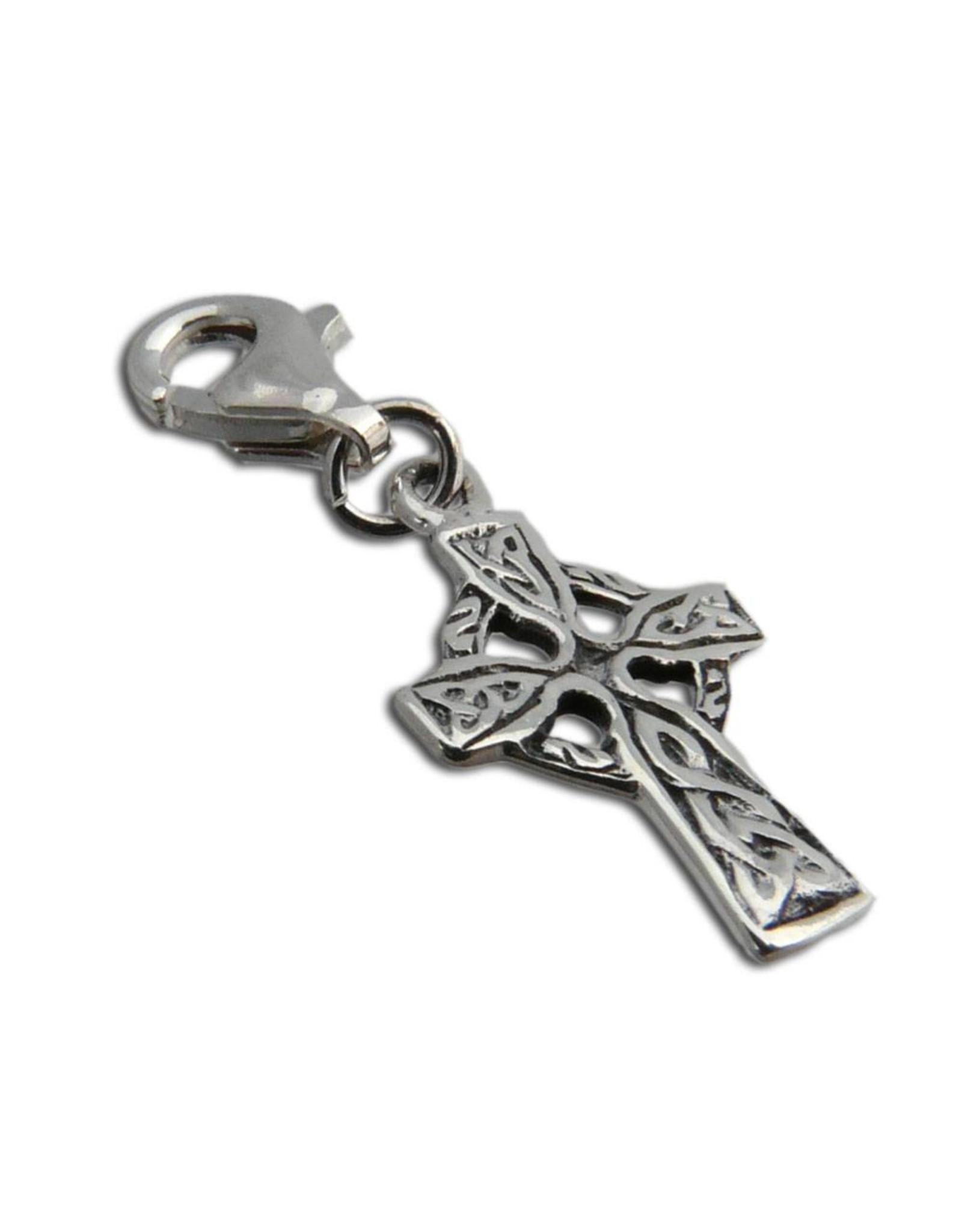 Shanti charm Celtic cross