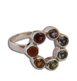 Shanti ring zeven chakra's circle of happiness