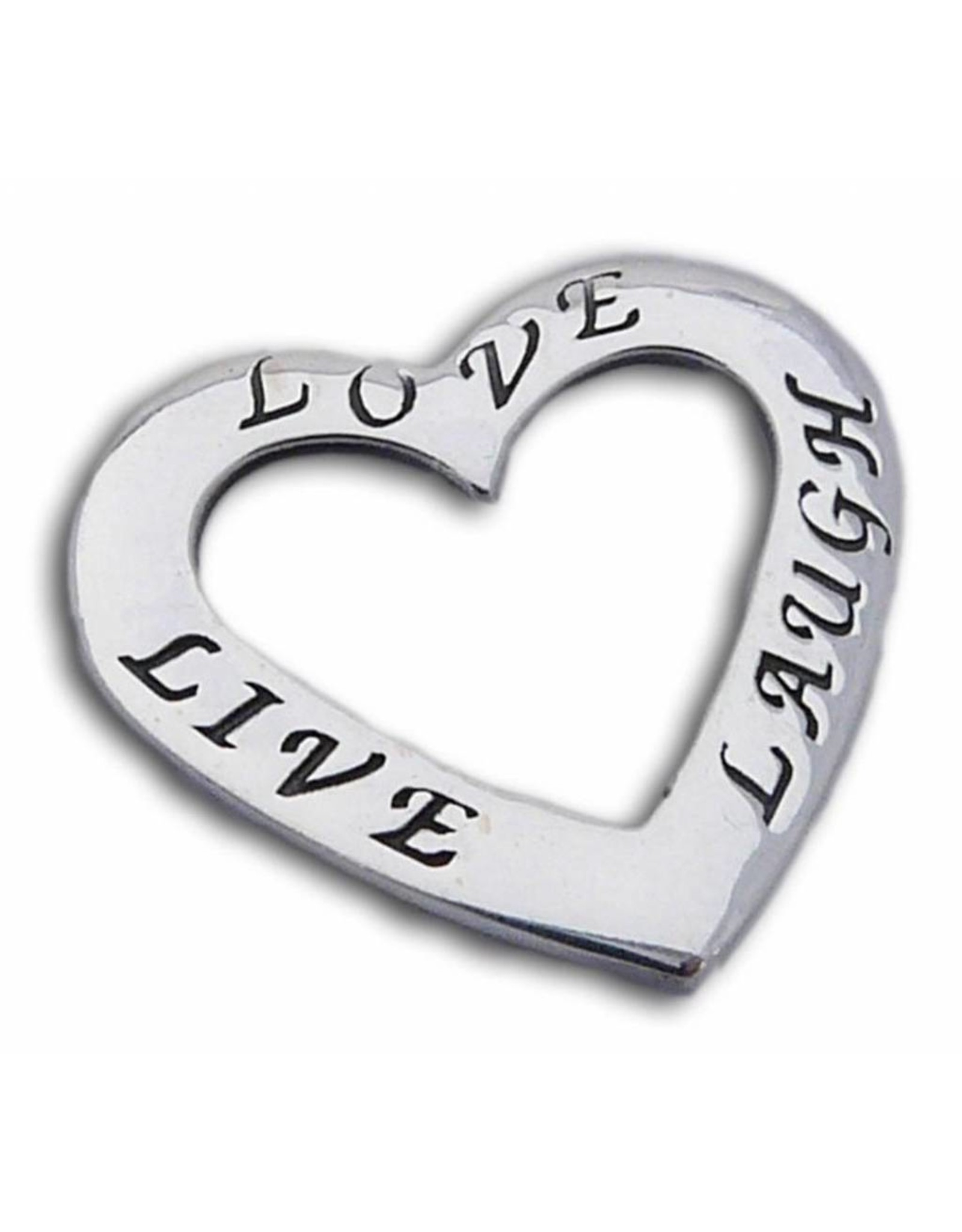 Shanti pendant Live Love Laugh