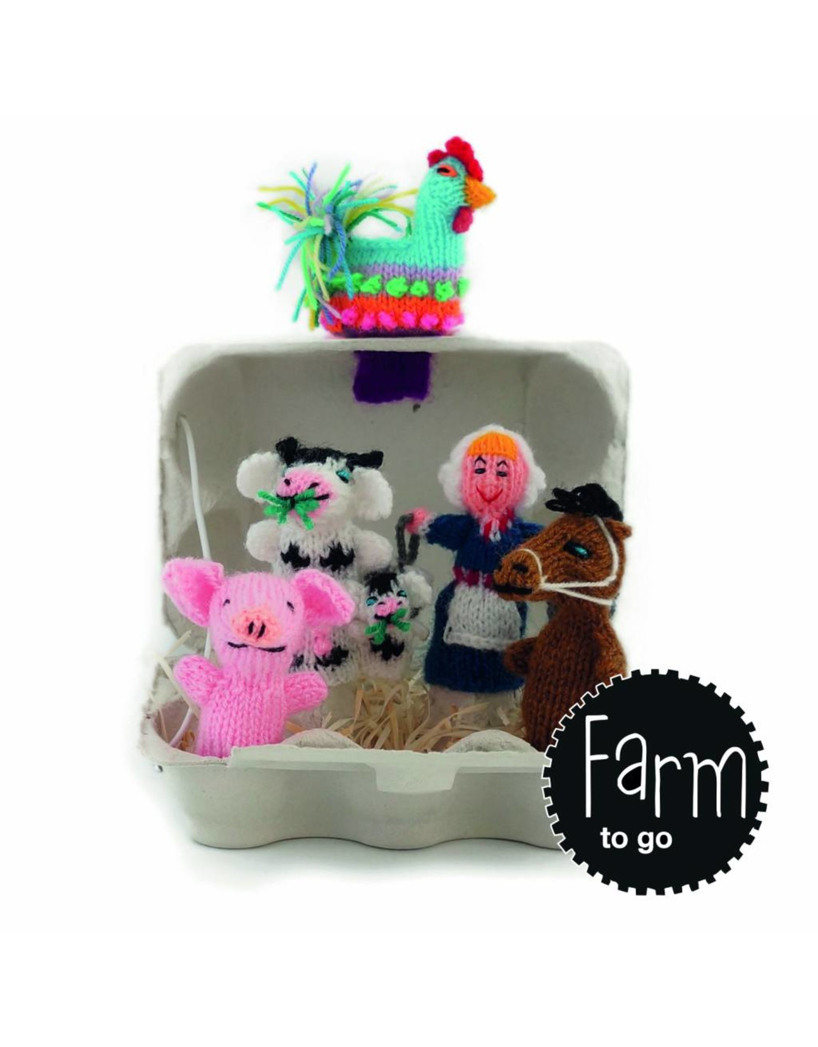 Titicaca finger puppets Farm to go