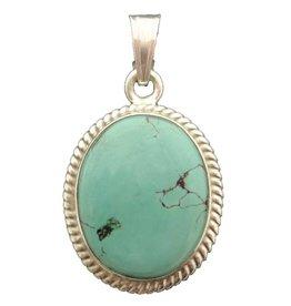Dakini pendant Turquoise oval