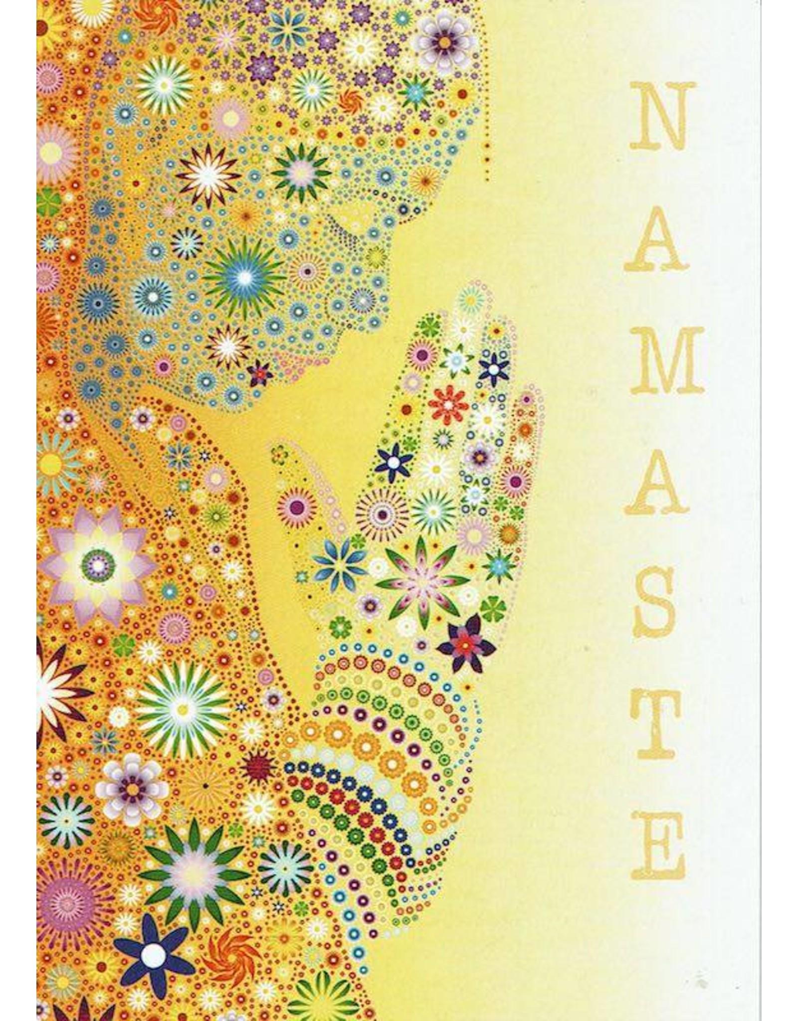 ZintenZ postcard Namasté