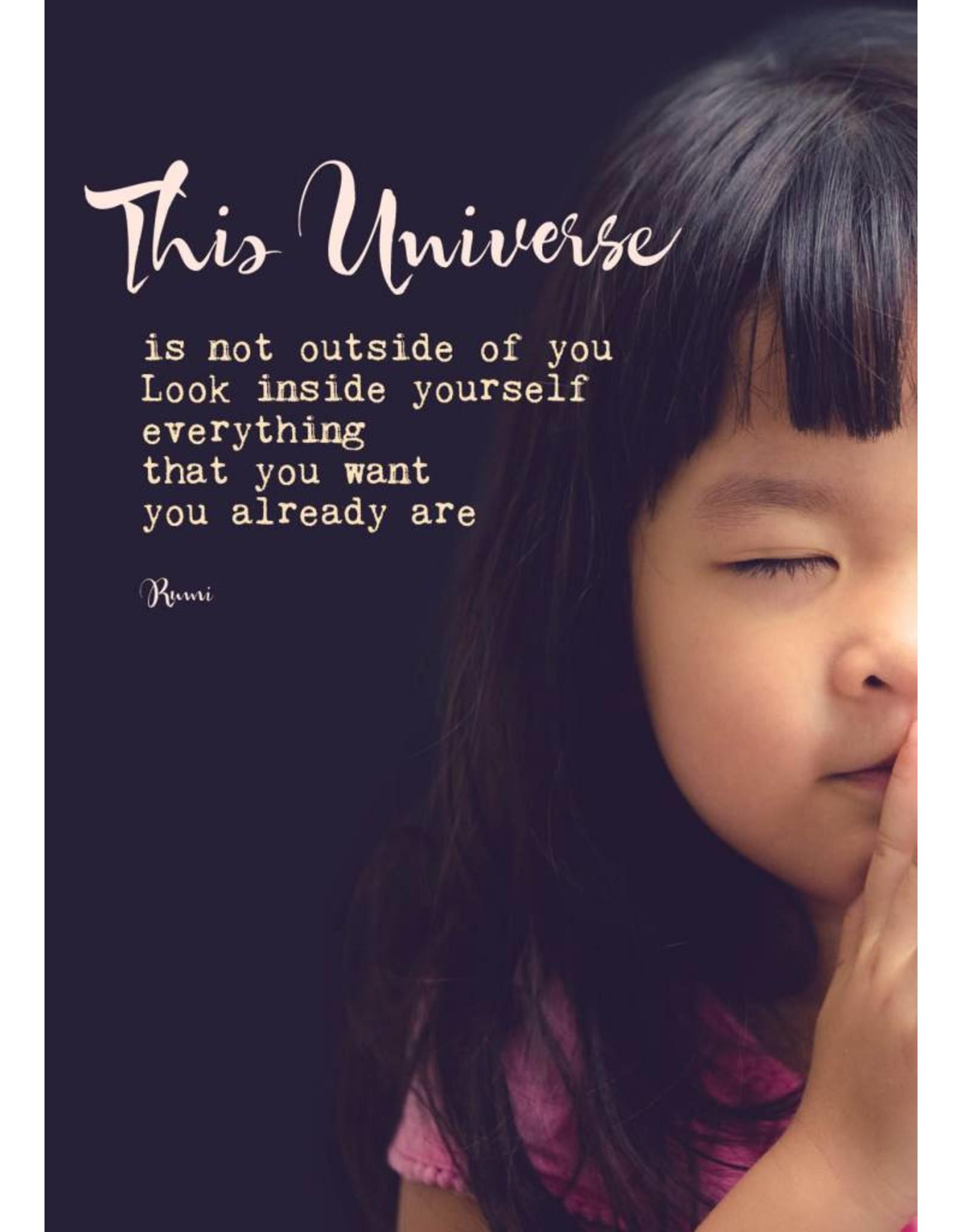 ZintenZ postcard This universe