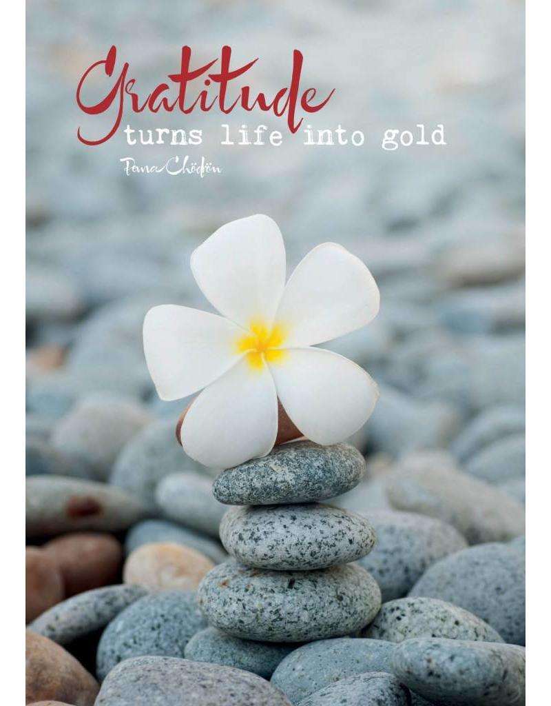 ZintenZ postcard Gratitude