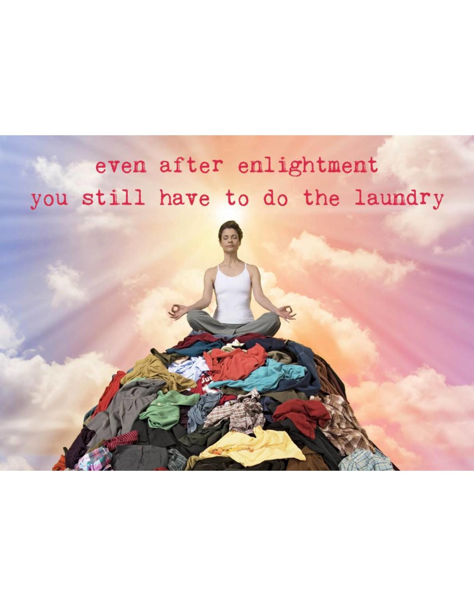 ZintenZ postkaart Even after enlightenment