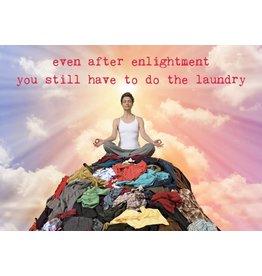 ZintenZ postcard Even after enlightenment