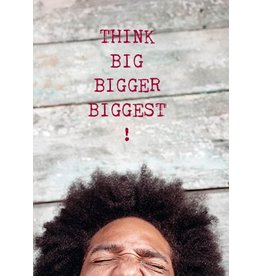 ZintenZ postcard Think big