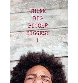 ZintenZ postcard Think big