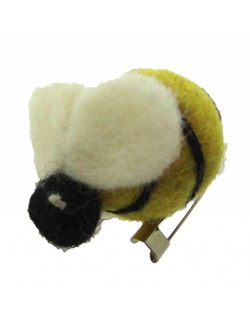 Dakini brooch Bee