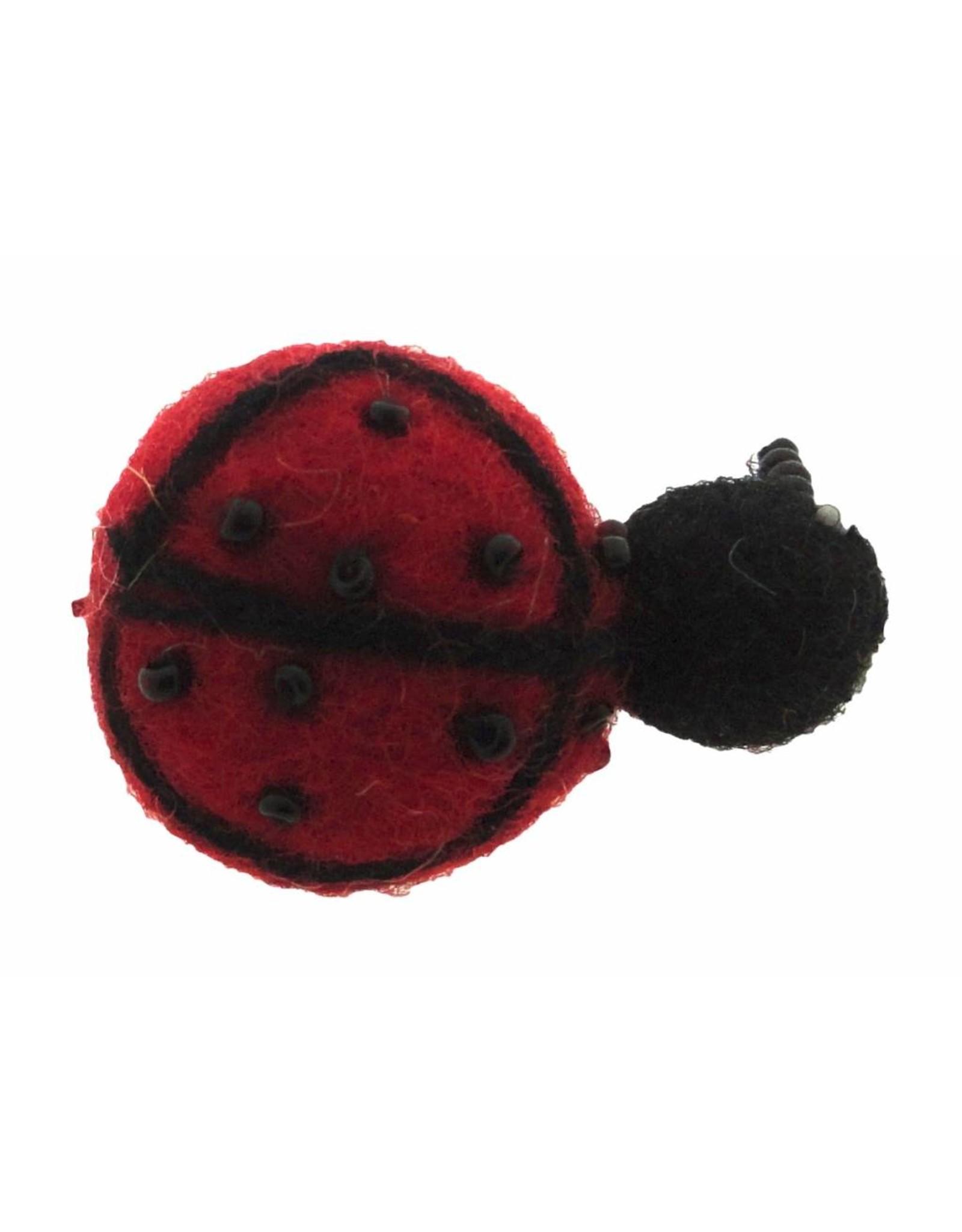 Dakini brooch Lady bug
