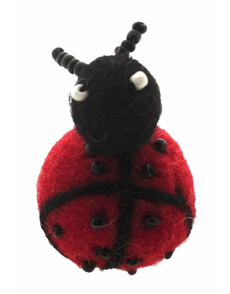 Dakini broche Lieveheersbeestje