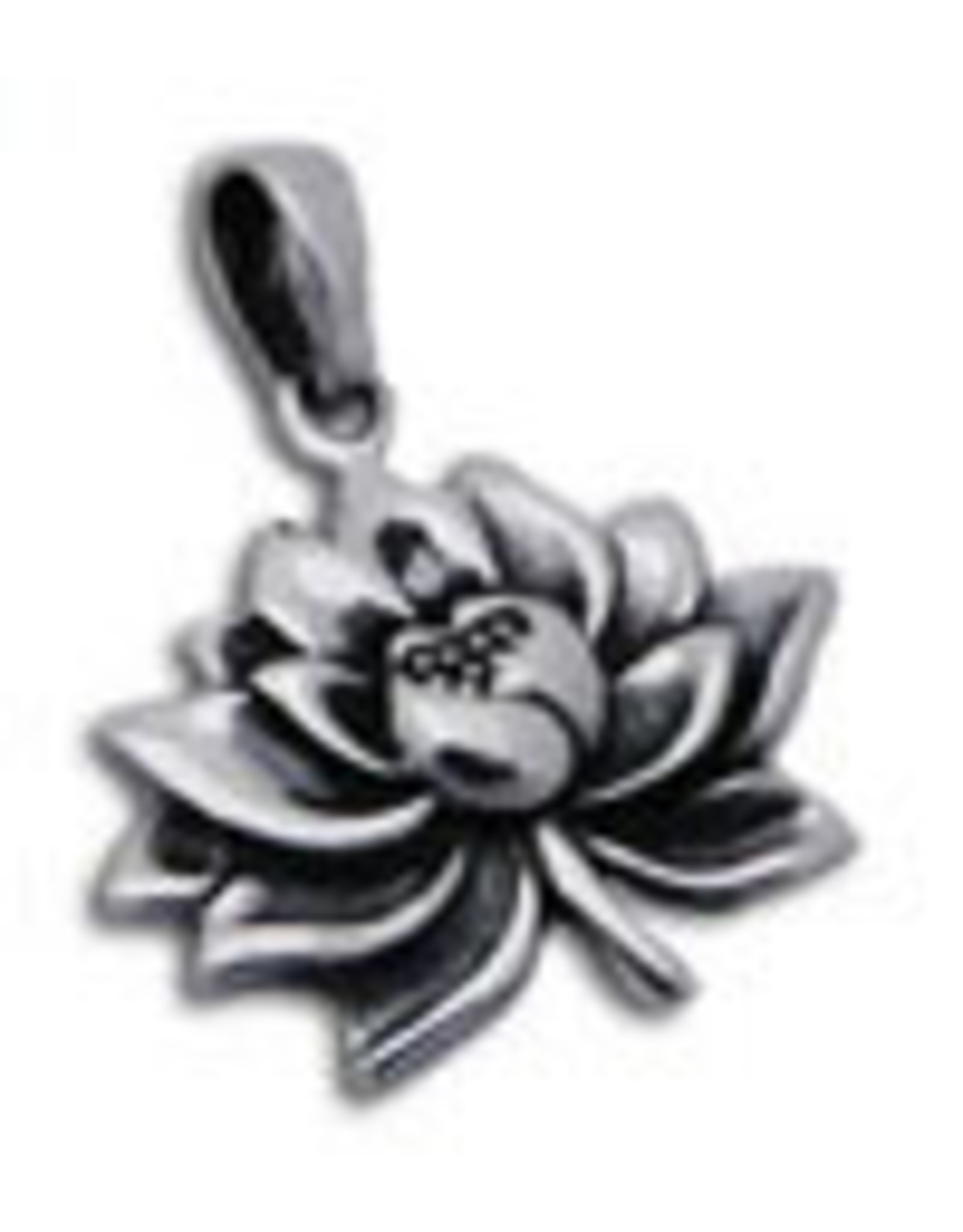 Shanti pendant lotus large