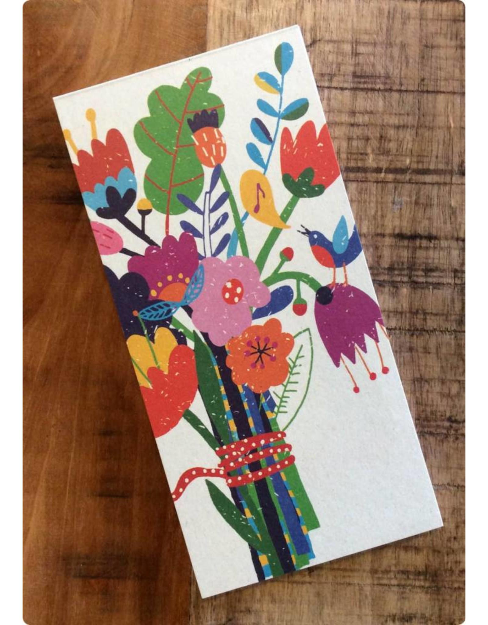 ZintenZ Notitieblokje Bos bloemen