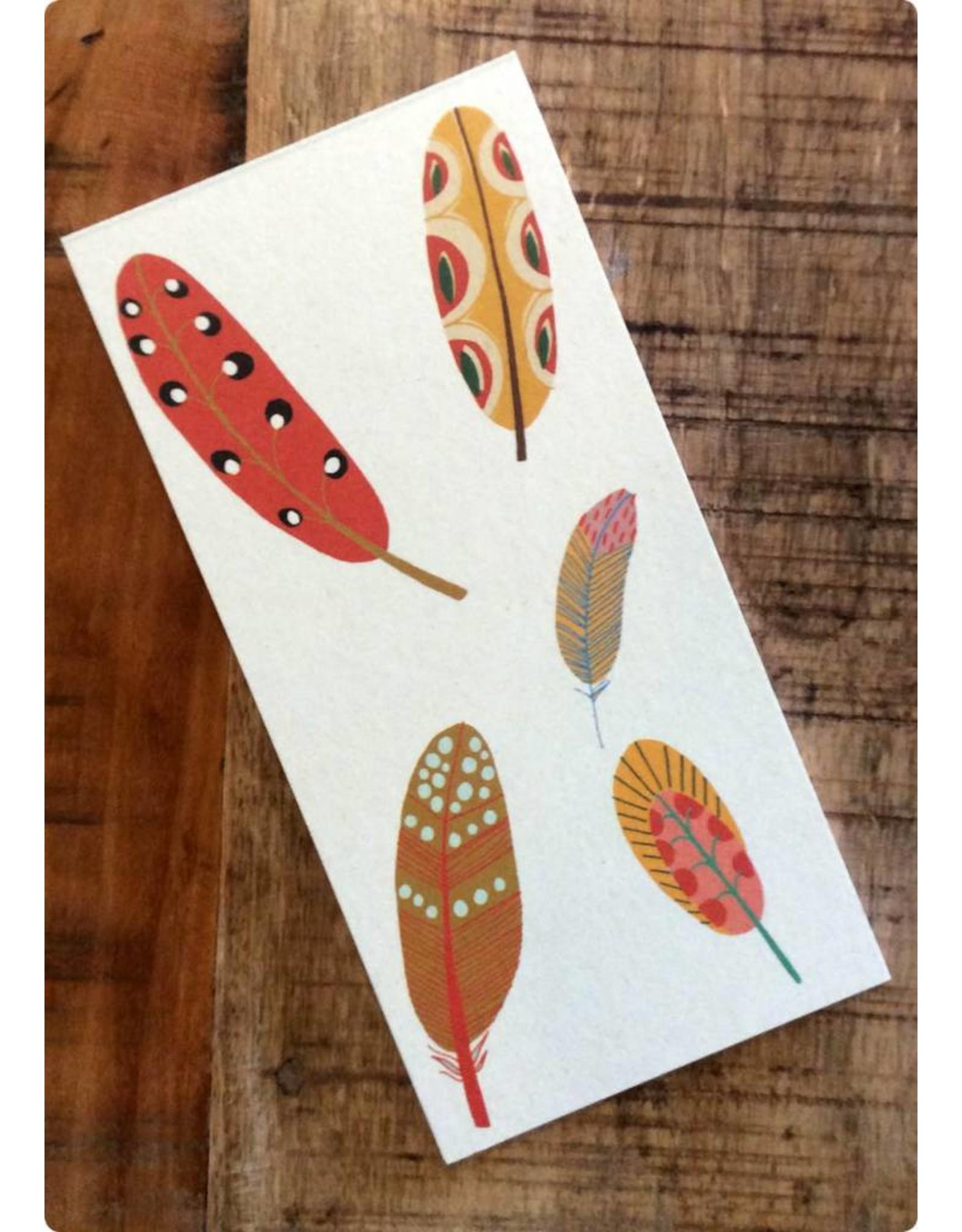 ZintenZ Notebook Feathers
