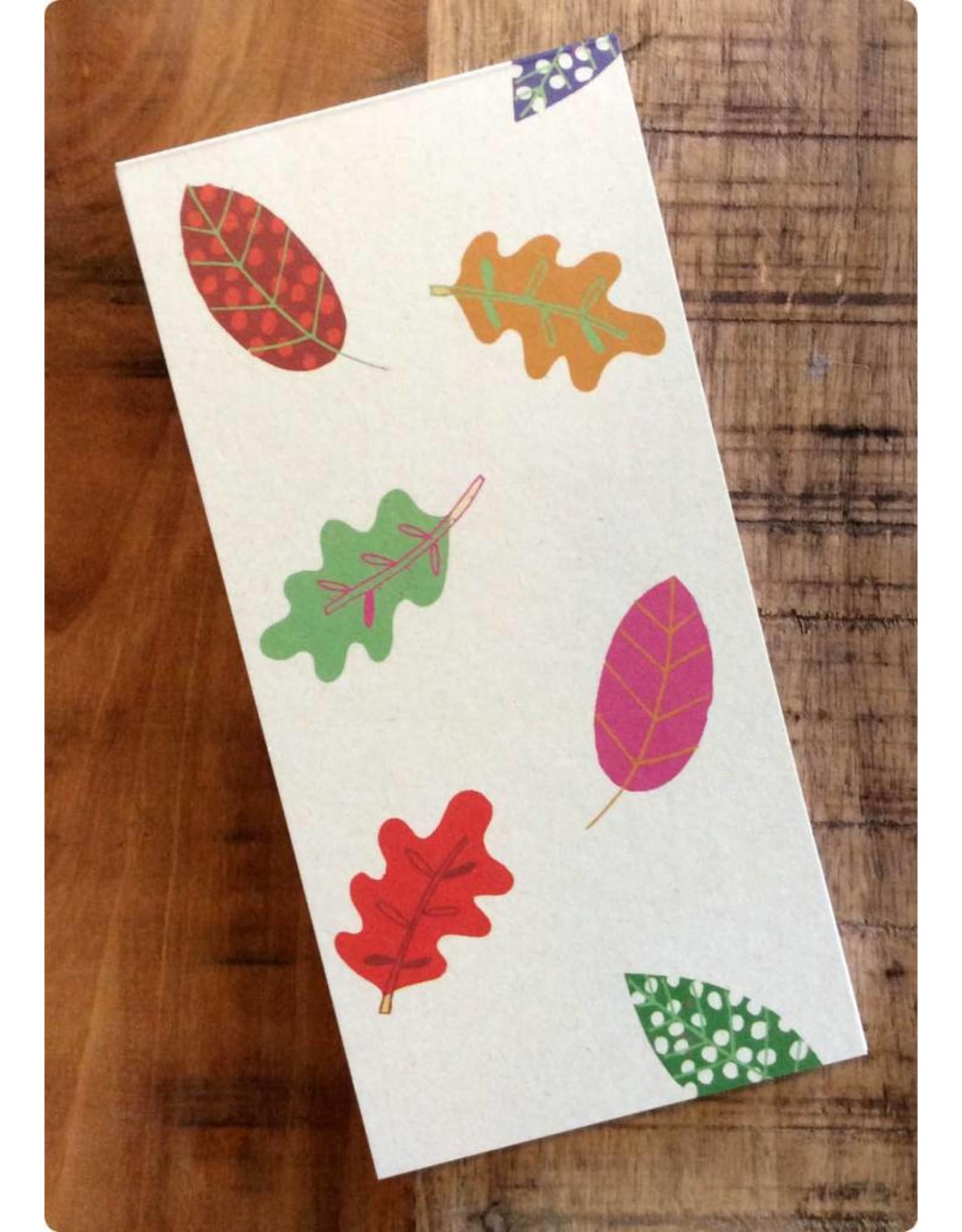 ZintenZ Notitieblokje Herfstbladeren