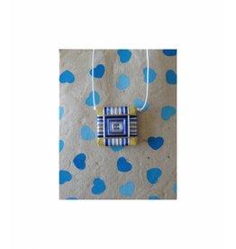 Dakini geboorte amulet Shakyamuni blauw