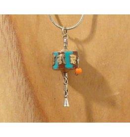 Tibetan pendant prayerwheel S