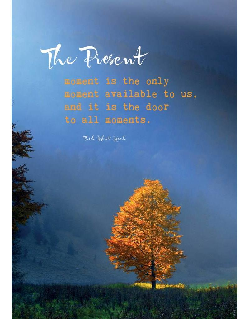 ZintenZ postcard The present moment is the only moment