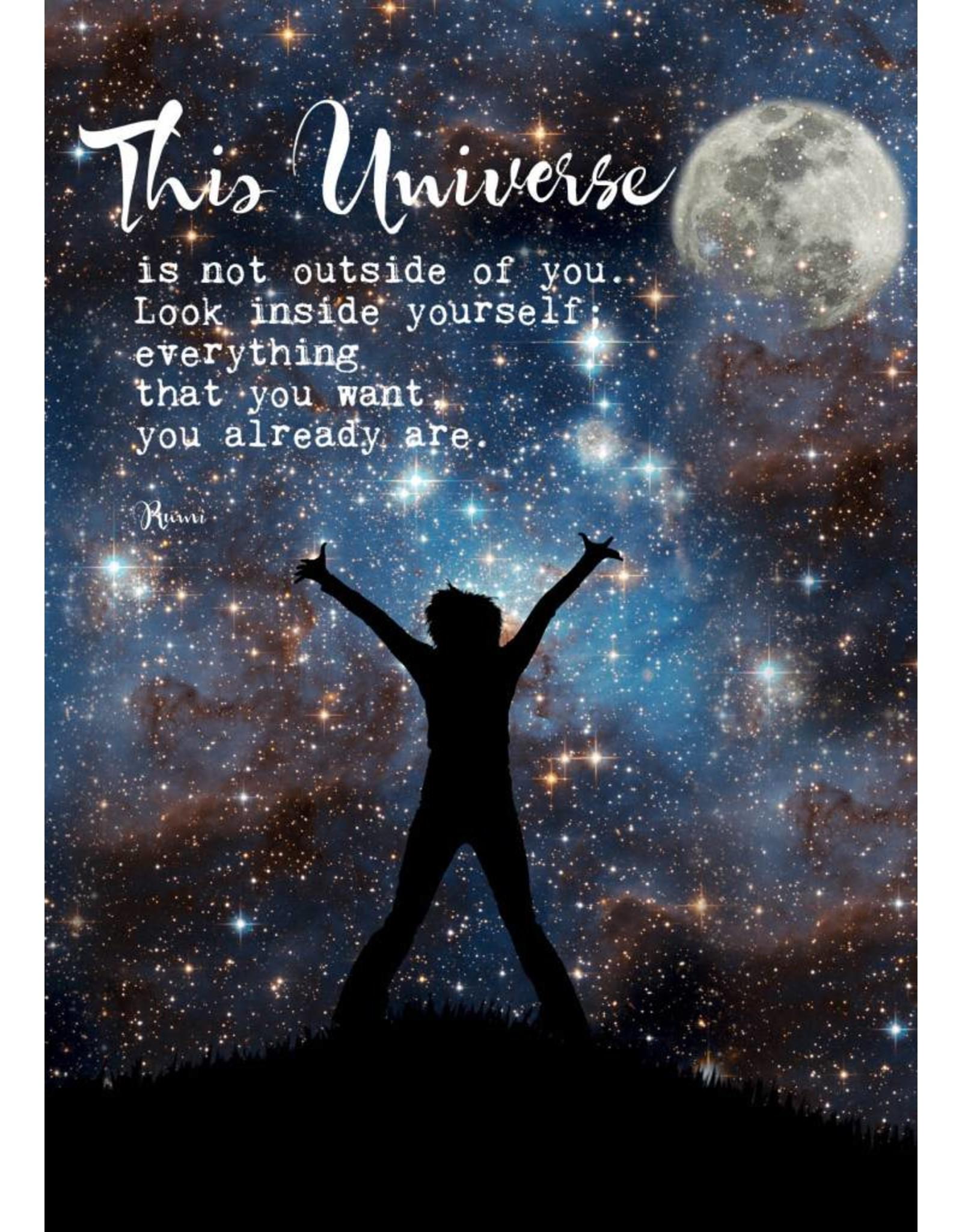 ZintenZ postkaart This universe is
