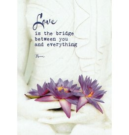 ZintenZ postcard Love is the bridge