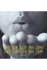 ZintenZ postcard Live the life you love