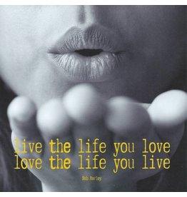 ZintenZ postkaart Live the life you love