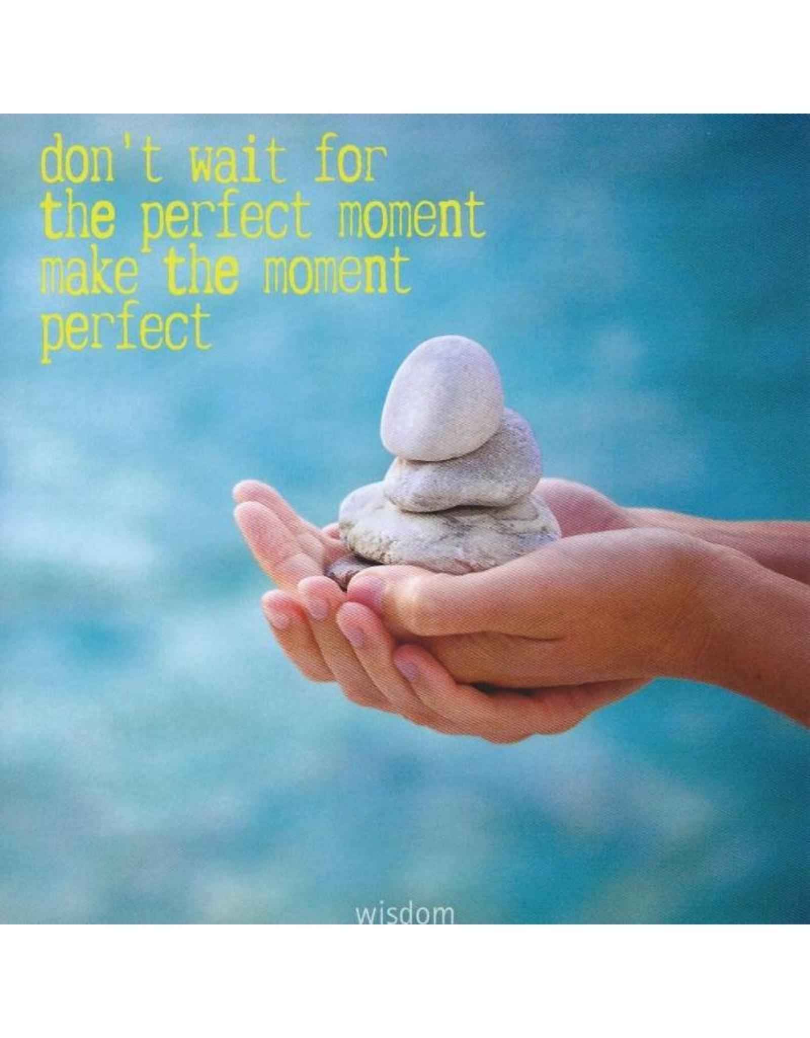 ZintenZ postkaart Don't wait for the perfect moment