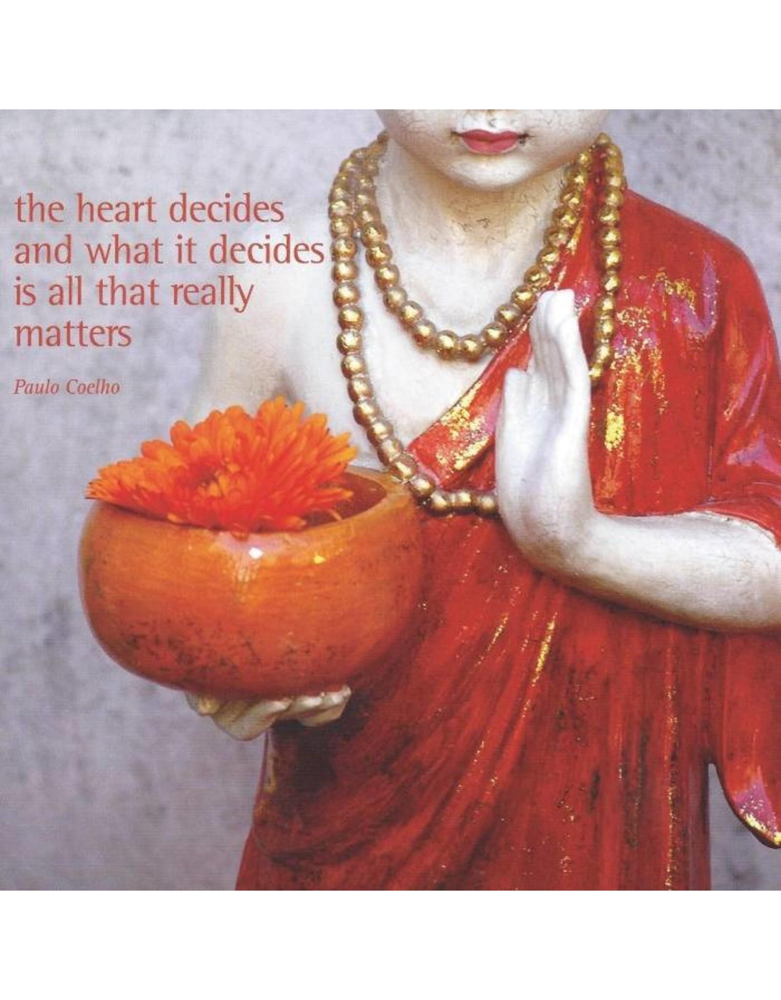 ZintenZ postcard The heart decides