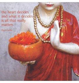 ZintenZ postkaart The heart decides