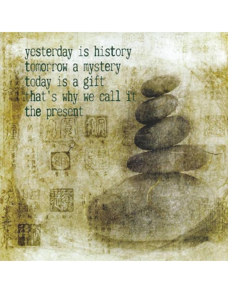 ZintenZ postkaart Yesterday is history